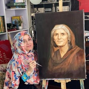 Fatima Jinnah Portrait