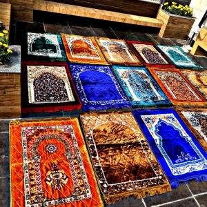 Velvet Jai Namaz Multicolor Rabi Stitch